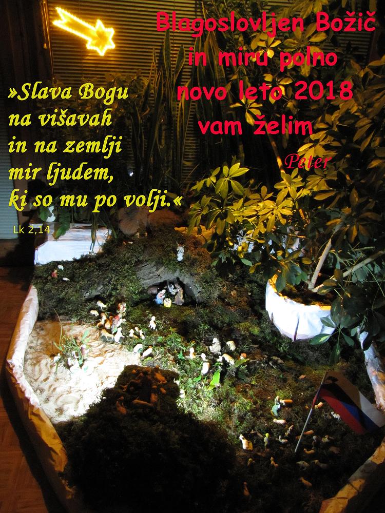 Božično novoletno voščilo 2018